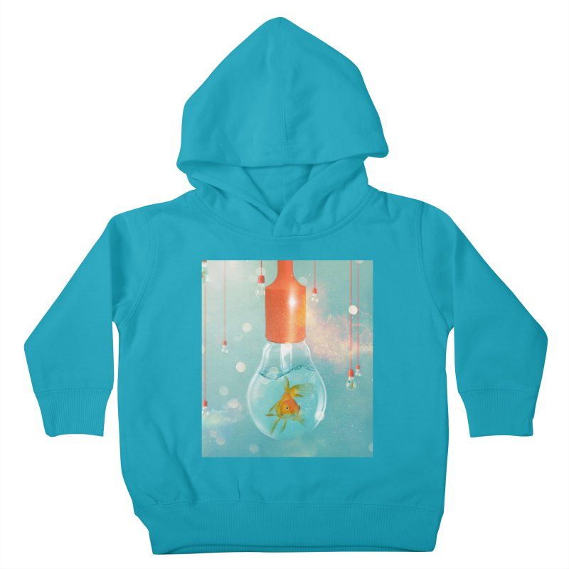 Goldfish Ideas Kids Toddler Pullover Hoody by Vin Zzep's Artist Shop