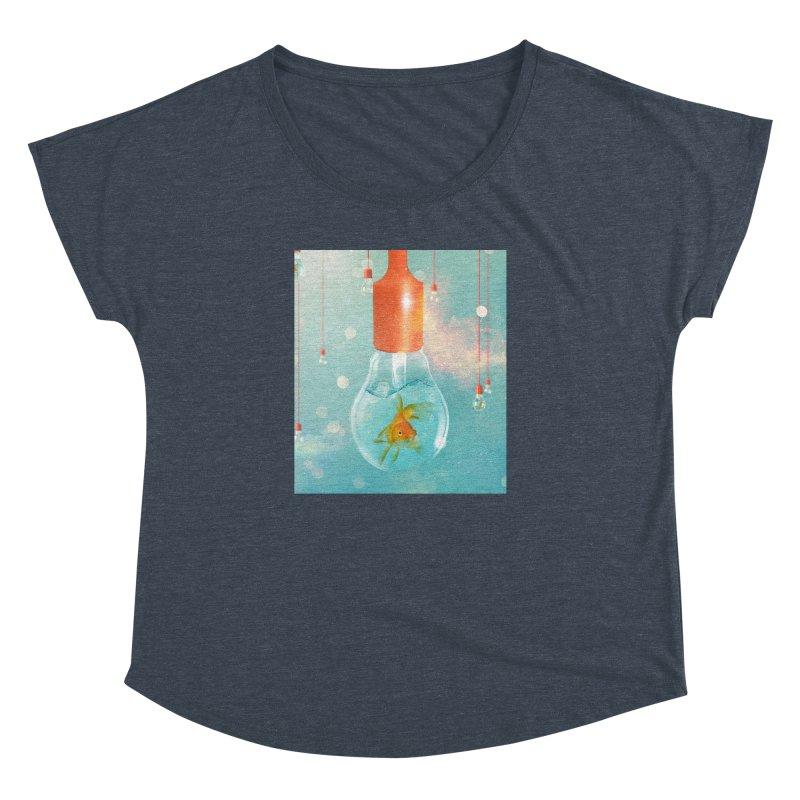 Goldfish Ideas Women's Dolman by Vin Zzep's Artist Shop
