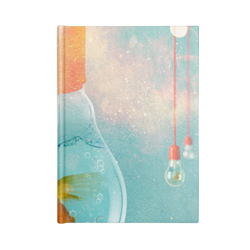 Goldfish Ideas Accessories Notebook by Vin Zzep's Artist Shop