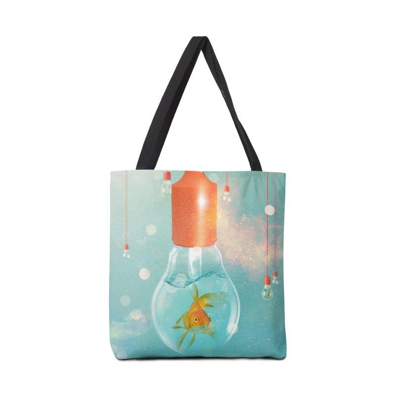 Goldfish Ideas Accessories Bag by Vin Zzep's Artist Shop