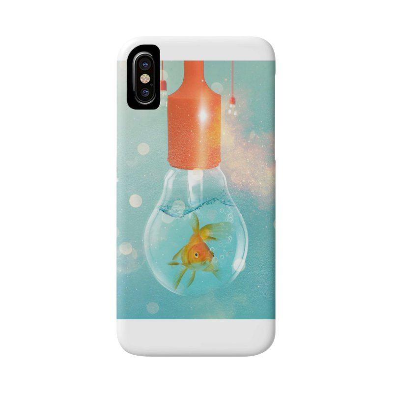 Goldfish Ideas Accessories Phone Case by Vin Zzep's Artist Shop
