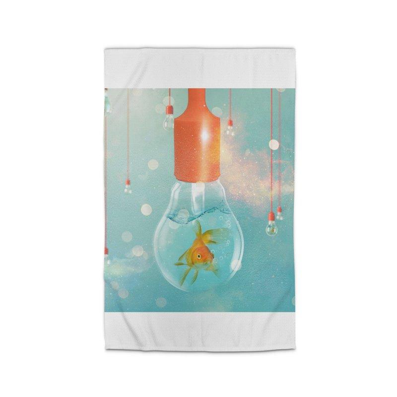 Goldfish Ideas Home Rug by Vin Zzep's Artist Shop