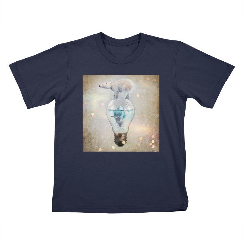 Polar Bear Ice Cap Kids Toddler T-Shirt by Vin Zzep's Artist Shop