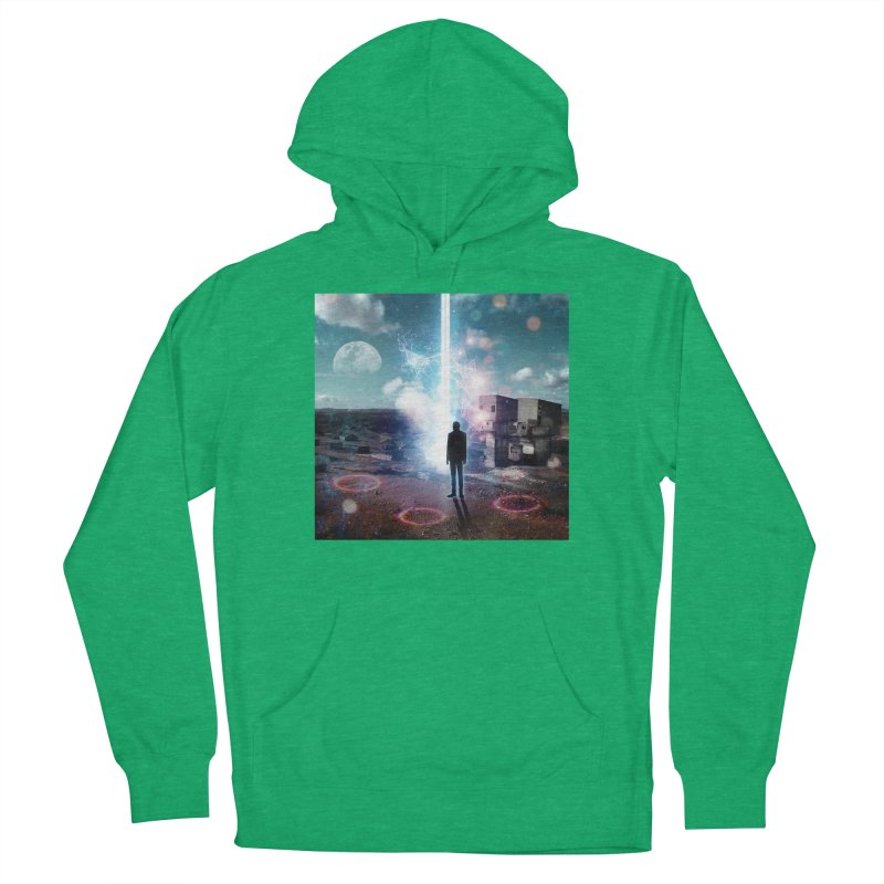 Data Mining Men's French Terry Pullover Hoody by Vin Zzep's Artist Shop