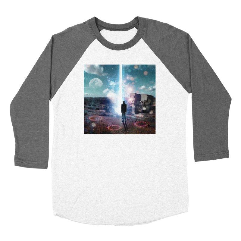 Data Mining Women's Baseball Triblend Longsleeve T-Shirt by Vin Zzep's Artist Shop