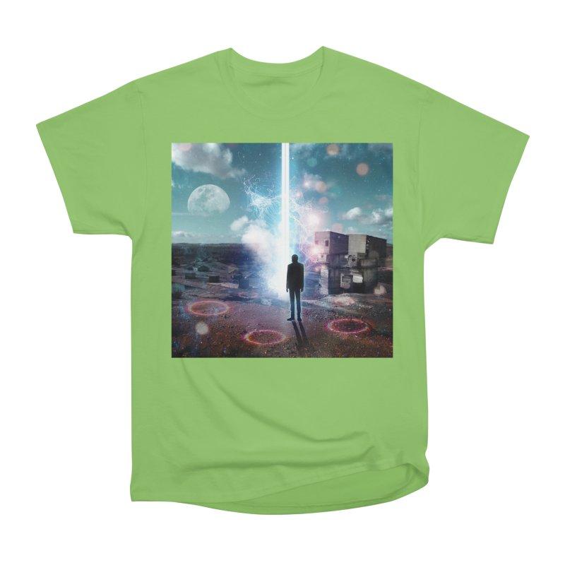 Data Mining Women's Heavyweight Unisex T-Shirt by Vin Zzep's Artist Shop