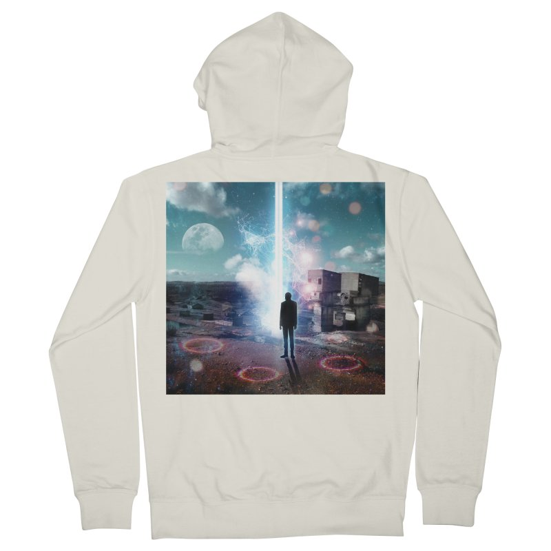 Data Mining Women's French Terry Zip-Up Hoody by Vin Zzep's Artist Shop