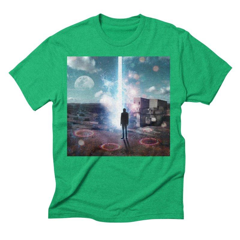 Data Mining Men's Triblend T-Shirt by Vin Zzep's Artist Shop