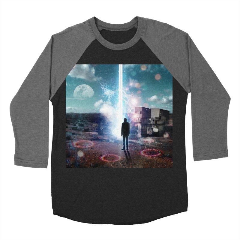 Data Mining Men's Baseball Triblend Longsleeve T-Shirt by Vin Zzep's Artist Shop