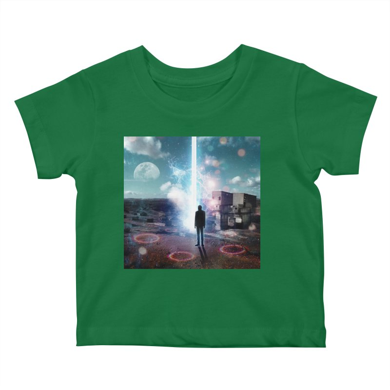 Data Mining Kids Baby T-Shirt by Vin Zzep's Artist Shop