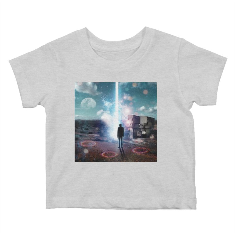 Data Mining Kids Baby T-Shirt by Vin Zzep's Artist Shop