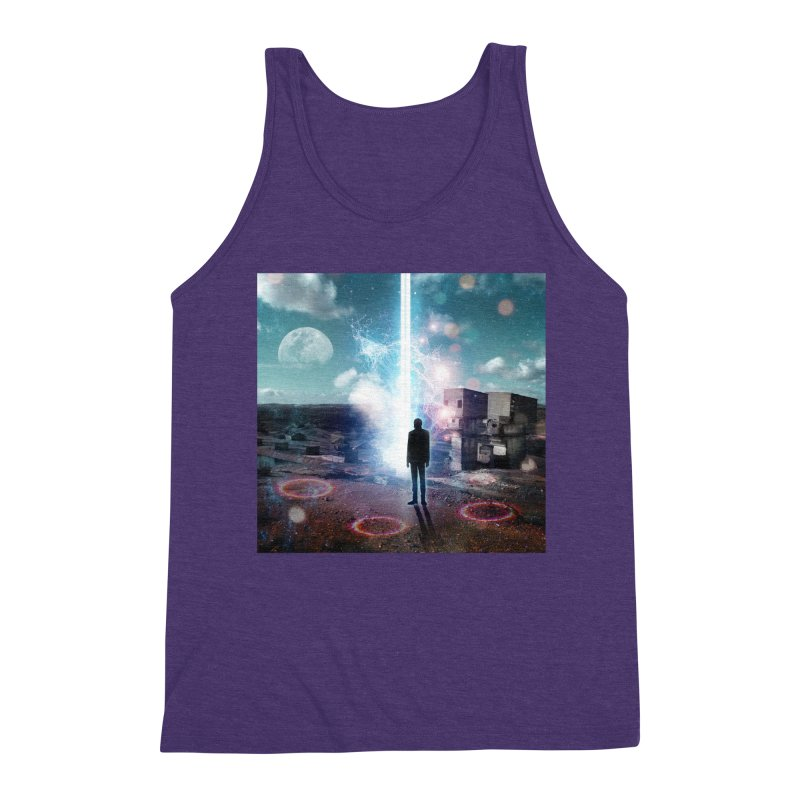 Data Mining Men's Triblend Tank by Vin Zzep's Artist Shop