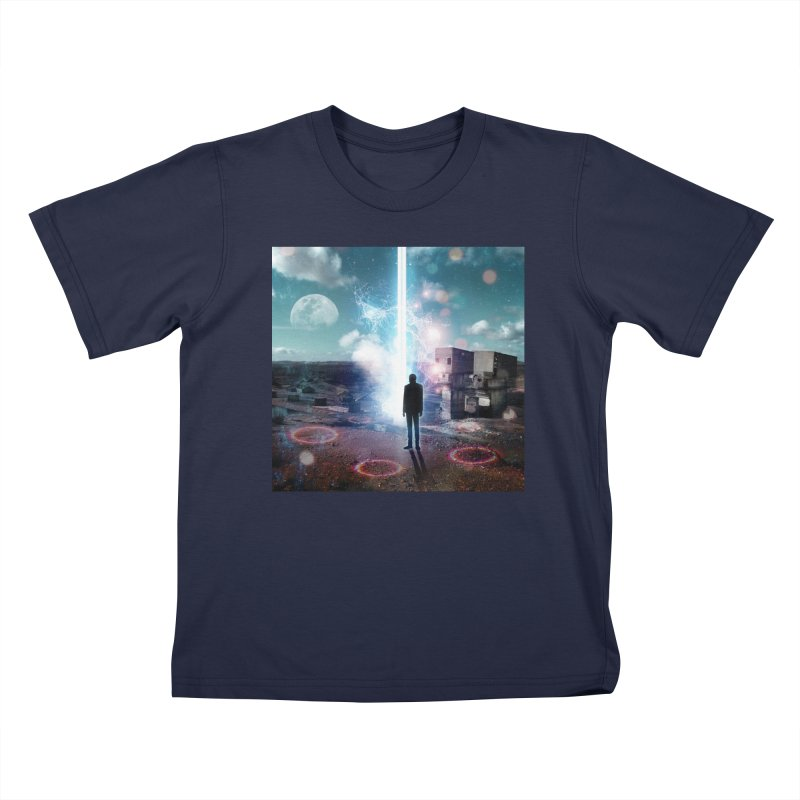 Data Mining Kids T-Shirt by Vin Zzep's Artist Shop
