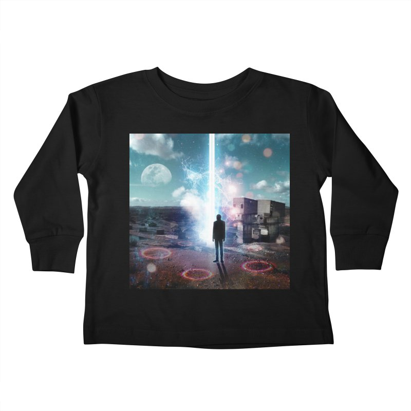 Data Mining Kids Toddler Longsleeve T-Shirt by Vin Zzep's Artist Shop