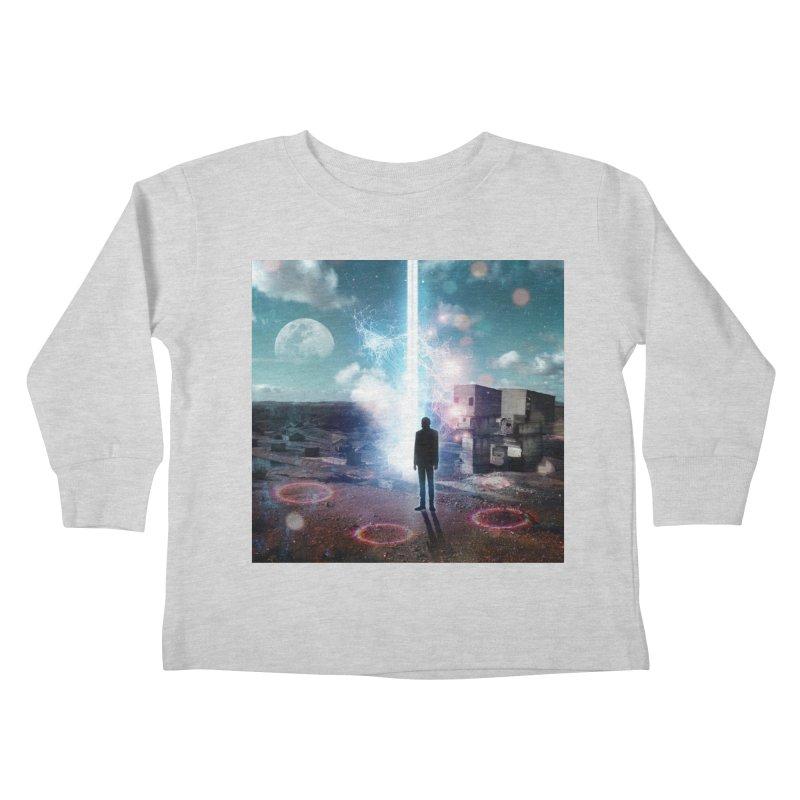 Data Mining Kids Toddler Longsleeve T-Shirt by Vin Zzep's Artist Shop