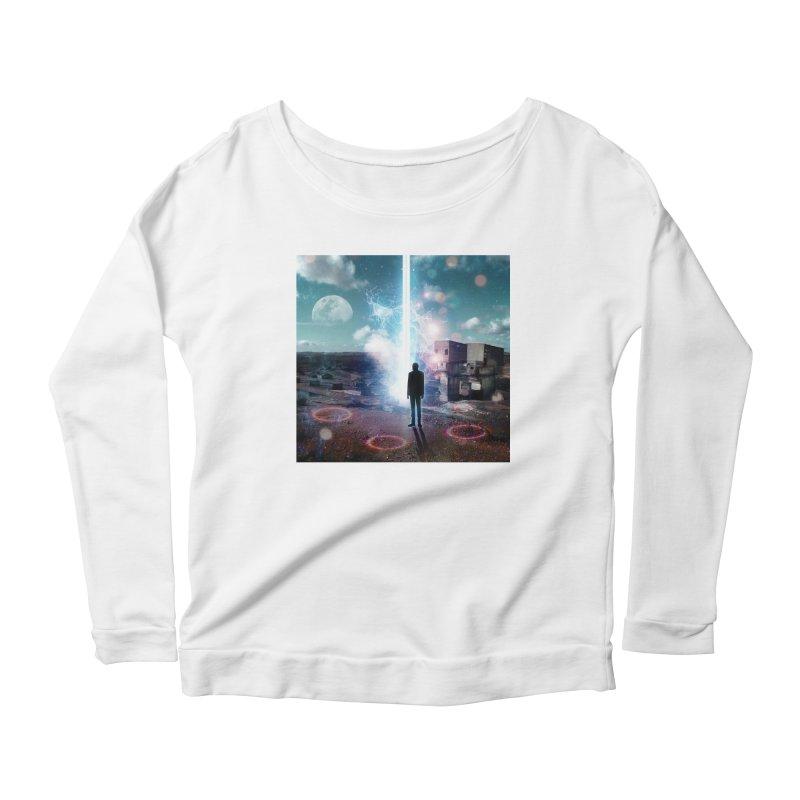Data Mining Women's Scoop Neck Longsleeve T-Shirt by Vin Zzep's Artist Shop