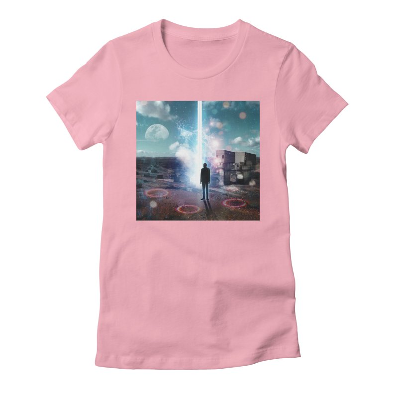 Data Mining Women's Fitted T-Shirt by Vin Zzep's Artist Shop