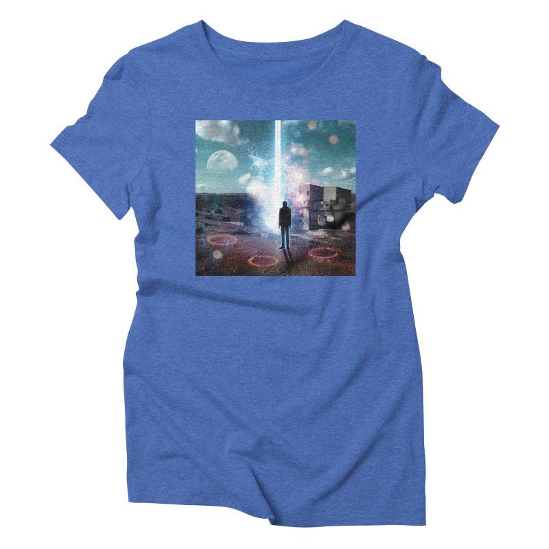 Data Mining Women's Triblend T-Shirt by Vin Zzep's Artist Shop