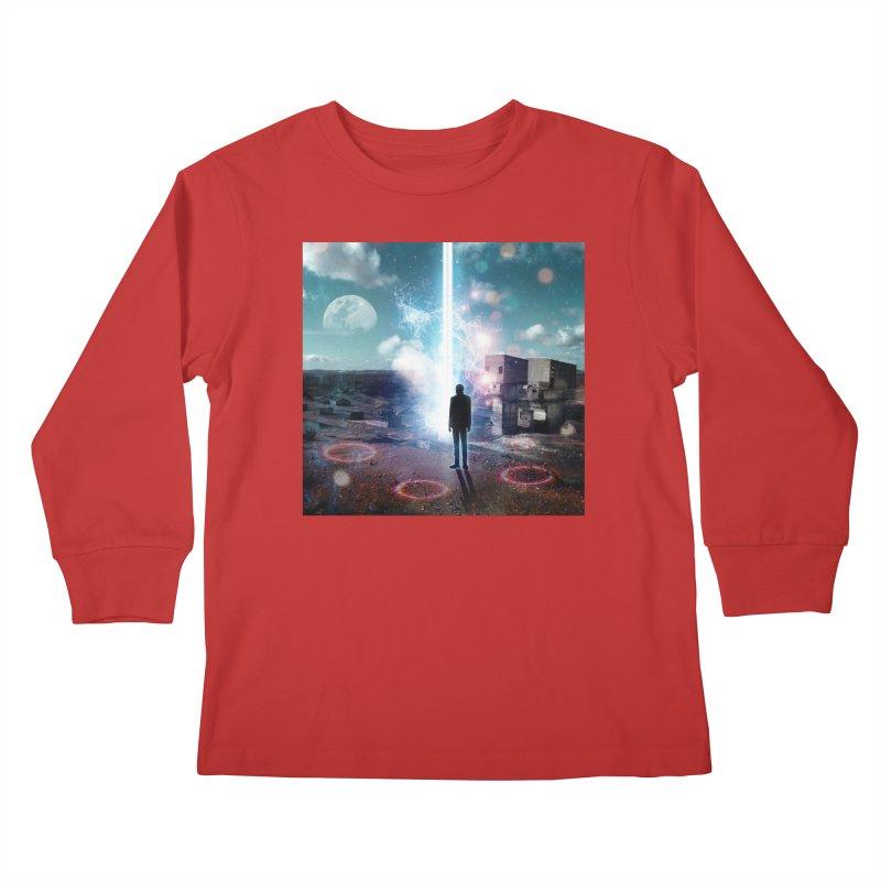 Data Mining Kids Longsleeve T-Shirt by Vin Zzep's Artist Shop