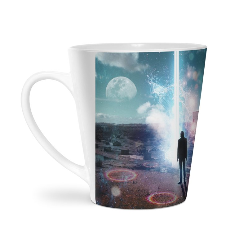 Data Mining Accessories Latte Mug by Vin Zzep's Artist Shop