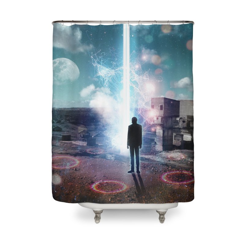Data Mining Home Shower Curtain by Vin Zzep's Artist Shop