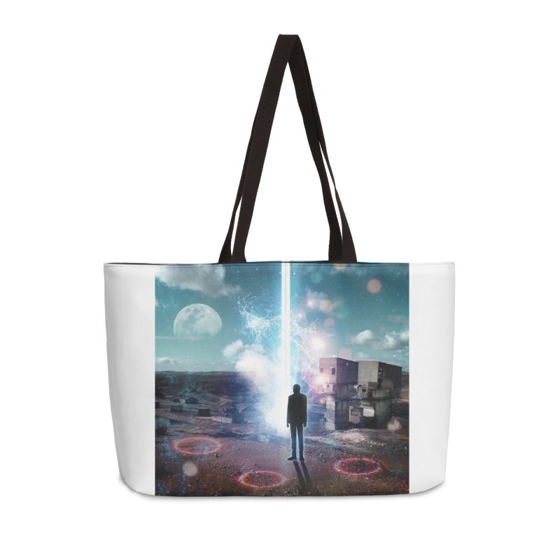 Data Mining Accessories Weekender Bag Bag by Vin Zzep's Artist Shop
