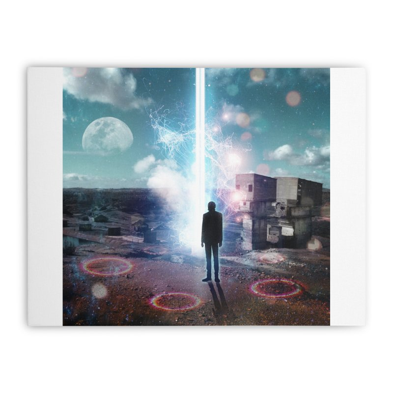 Data Mining Home Stretched Canvas by Vin Zzep's Artist Shop