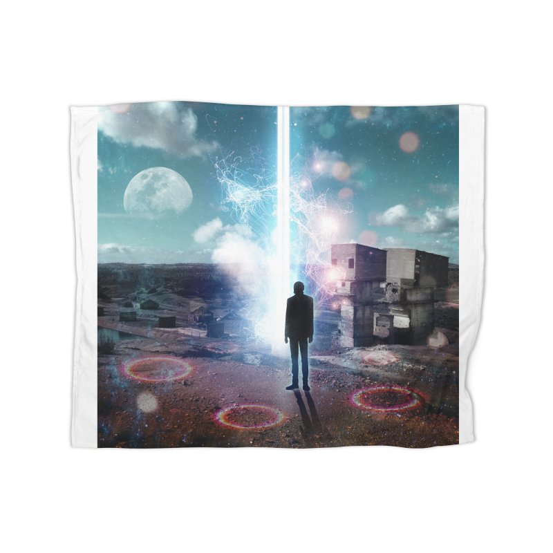 Data Mining Home Fleece Blanket Blanket by Vin Zzep's Artist Shop