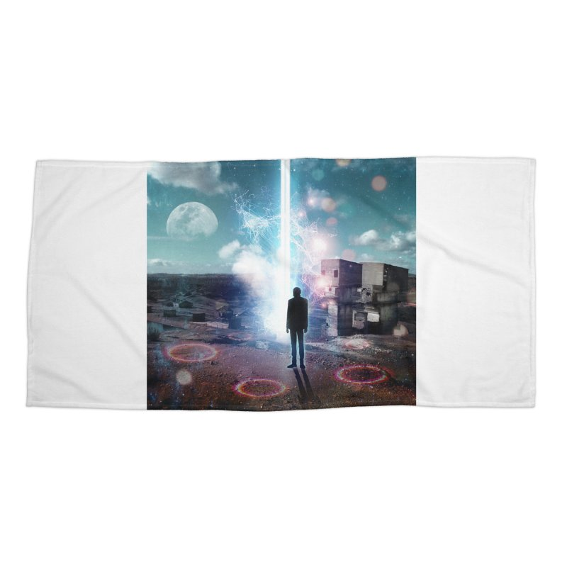 Data Mining Accessories Beach Towel by Vin Zzep's Artist Shop