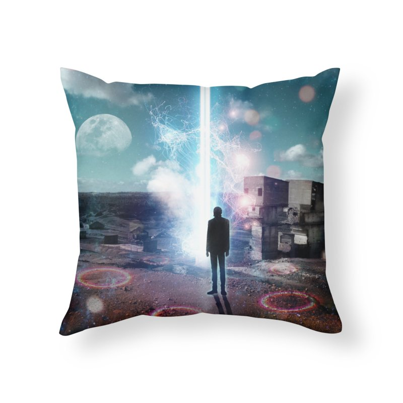 Data Mining Home Throw Pillow by Vin Zzep's Artist Shop