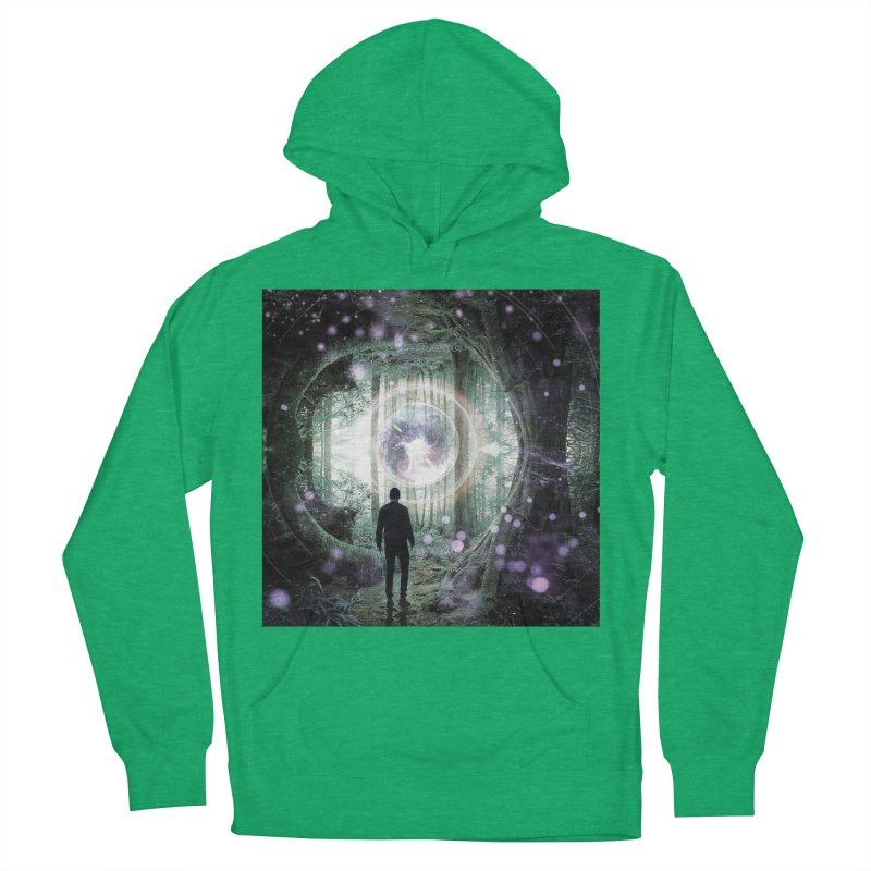Forest Orb 2 Men's French Terry Pullover Hoody by Vin Zzep's Artist Shop