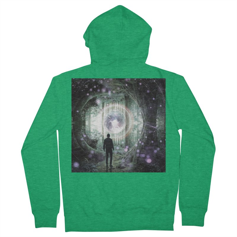 Forest Orb 2 Women's French Terry Zip-Up Hoody by Vin Zzep's Artist Shop
