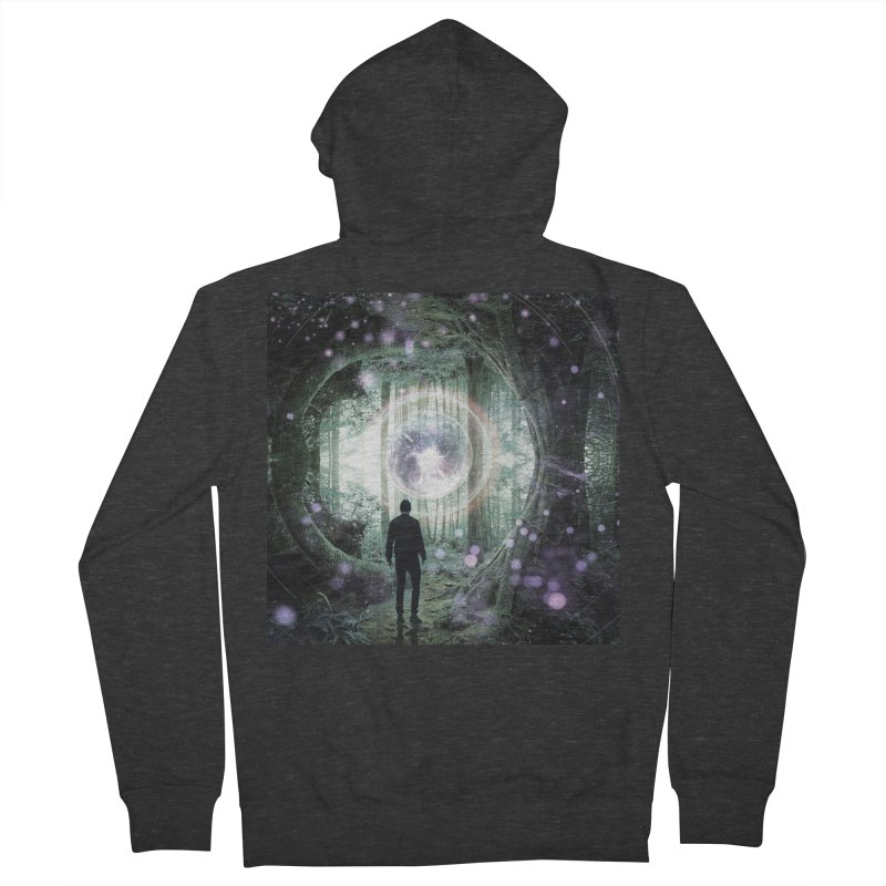 Forest Orb 2 Men's French Terry Zip-Up Hoody by Vin Zzep's Artist Shop