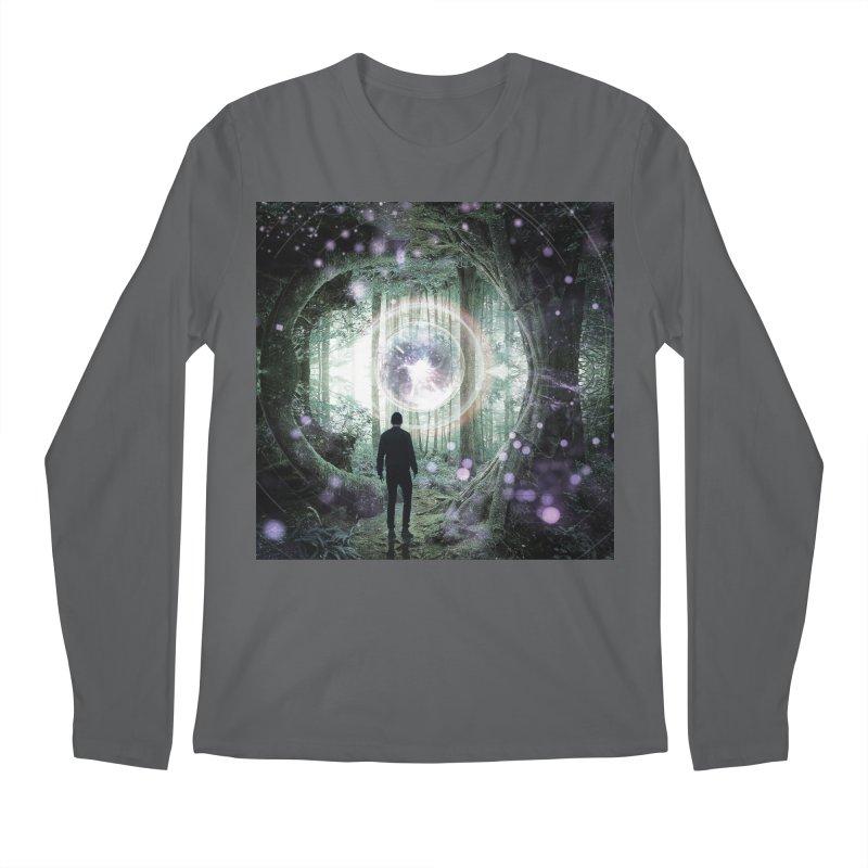 Forest Orb 2 Men's Regular Longsleeve T-Shirt by Vin Zzep's Artist Shop