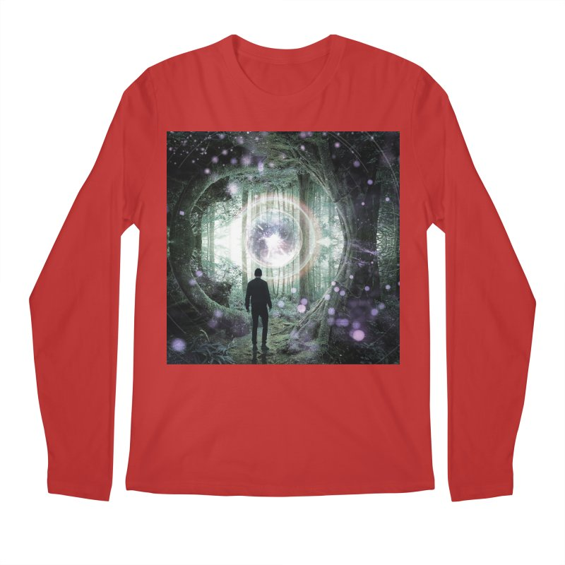 Forest Orb 2 Men's Regular Longsleeve T-Shirt by Vin Zzep's Artist Shop