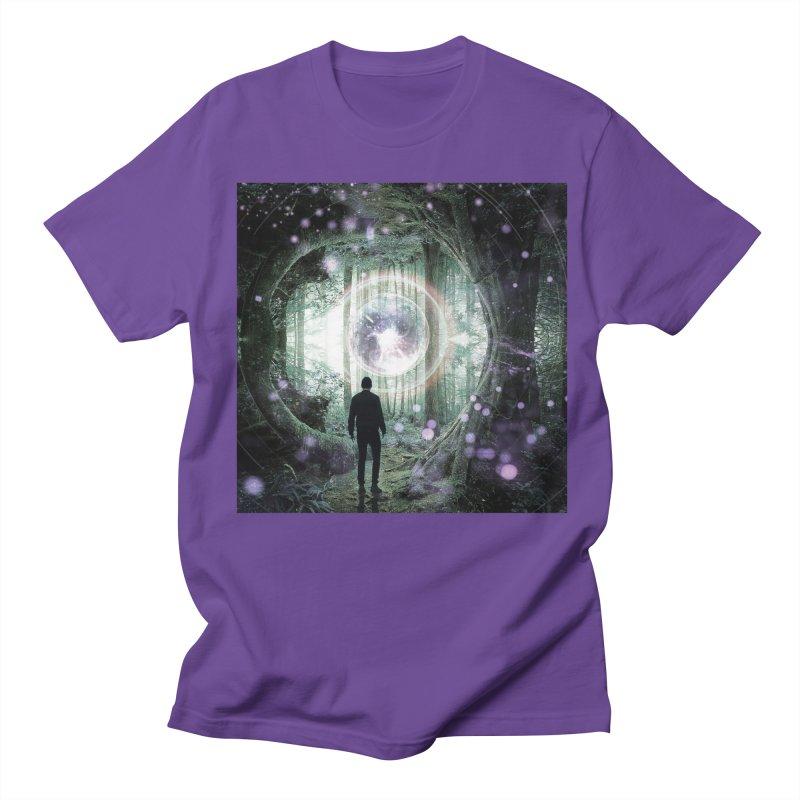 Forest Orb 2 Men's Regular T-Shirt by Vin Zzep's Artist Shop