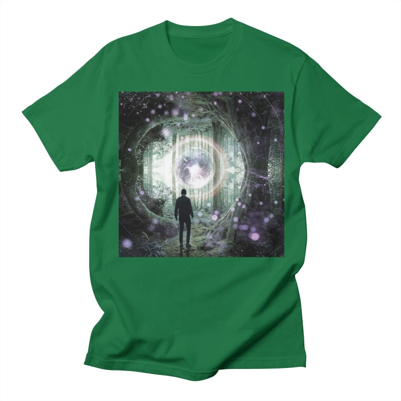 Forest Orb 2 Men's Regular T-Shirt by Vin Zzep's Artist Shop