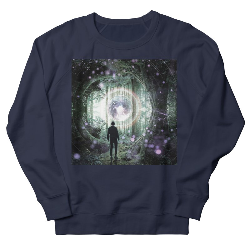 Forest Orb 2 Men's French Terry Sweatshirt by Vin Zzep's Artist Shop