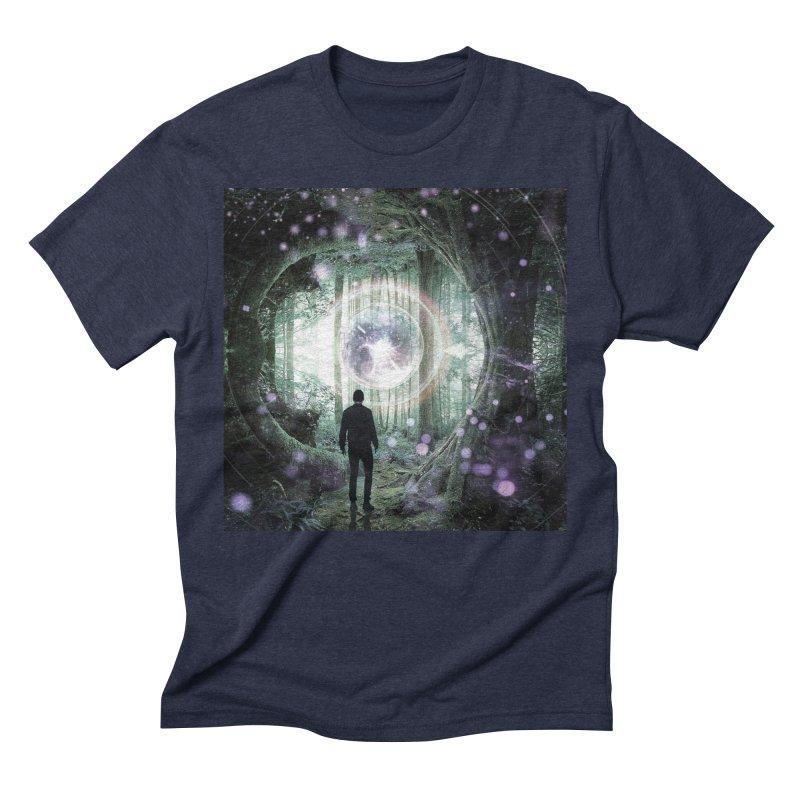 Forest Orb 2 Men's Triblend T-Shirt by Vin Zzep's Artist Shop