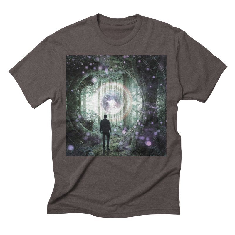 Forest Orb 2 Men's T-Shirt by Vin Zzep's Artist Shop