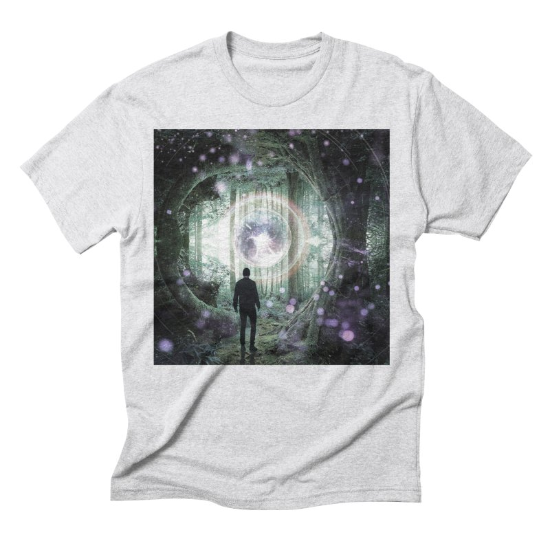 Forest Orb 2 Men's Triblend T-Shirt by Vin Zzep's Artist Shop