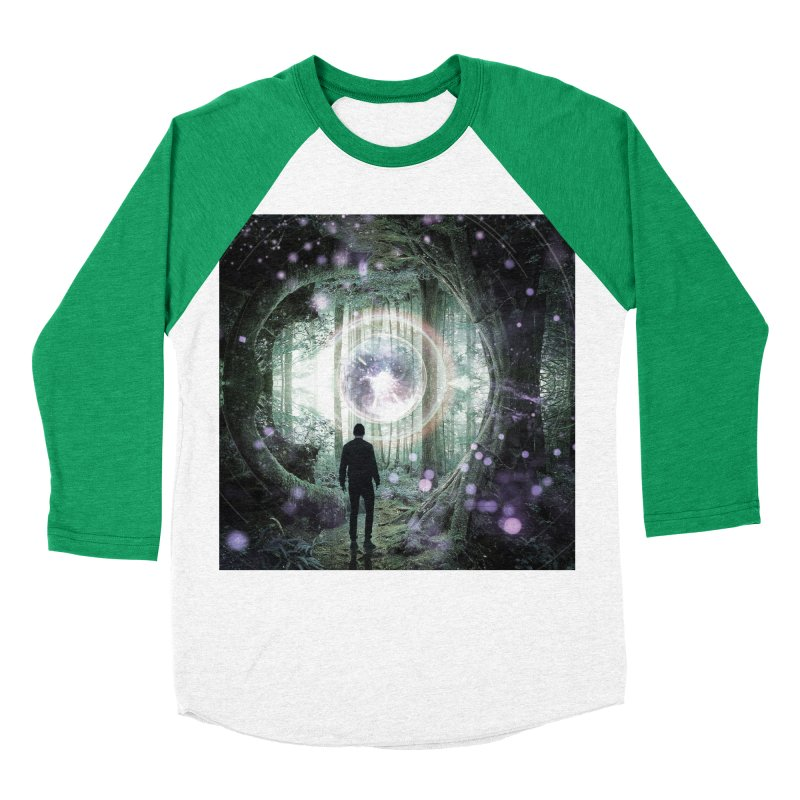 Forest Orb 2 Women's Baseball Triblend Longsleeve T-Shirt by Vin Zzep's Artist Shop