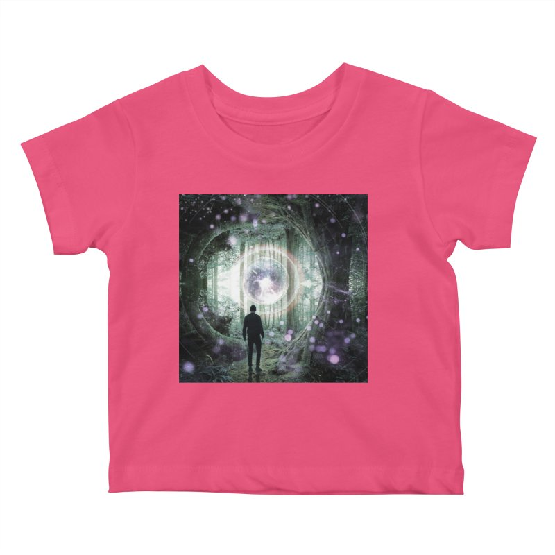 Forest Orb 2 Kids Baby T-Shirt by Vin Zzep's Artist Shop