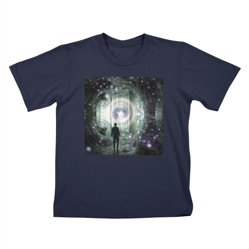 Forest Orb 2 Kids T-Shirt by Vin Zzep's Artist Shop