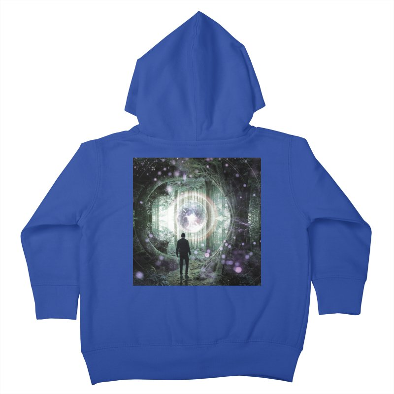 Forest Orb 2 Kids Toddler Zip-Up Hoody by Vin Zzep's Artist Shop
