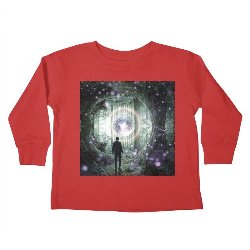 Forest Orb 2 Kids Toddler Longsleeve T-Shirt by Vin Zzep's Artist Shop