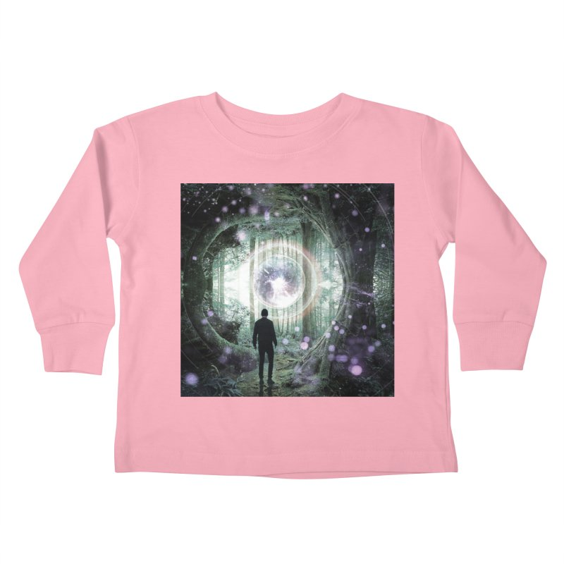 Forest Orb 2 Kids Toddler Longsleeve T-Shirt by Vin Zzep's Artist Shop