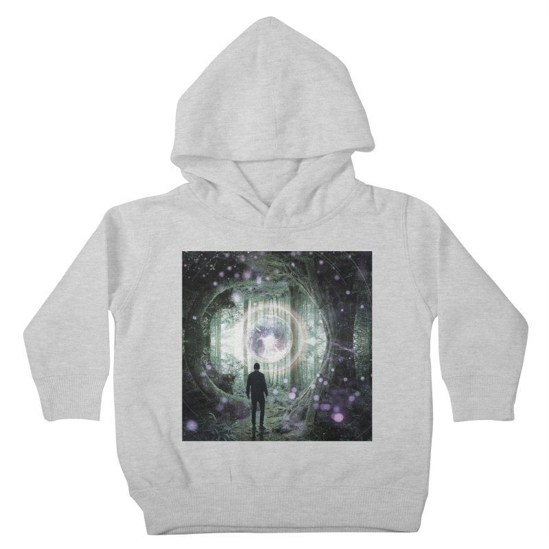 Forest Orb 2 Kids Toddler Pullover Hoody by Vin Zzep's Artist Shop