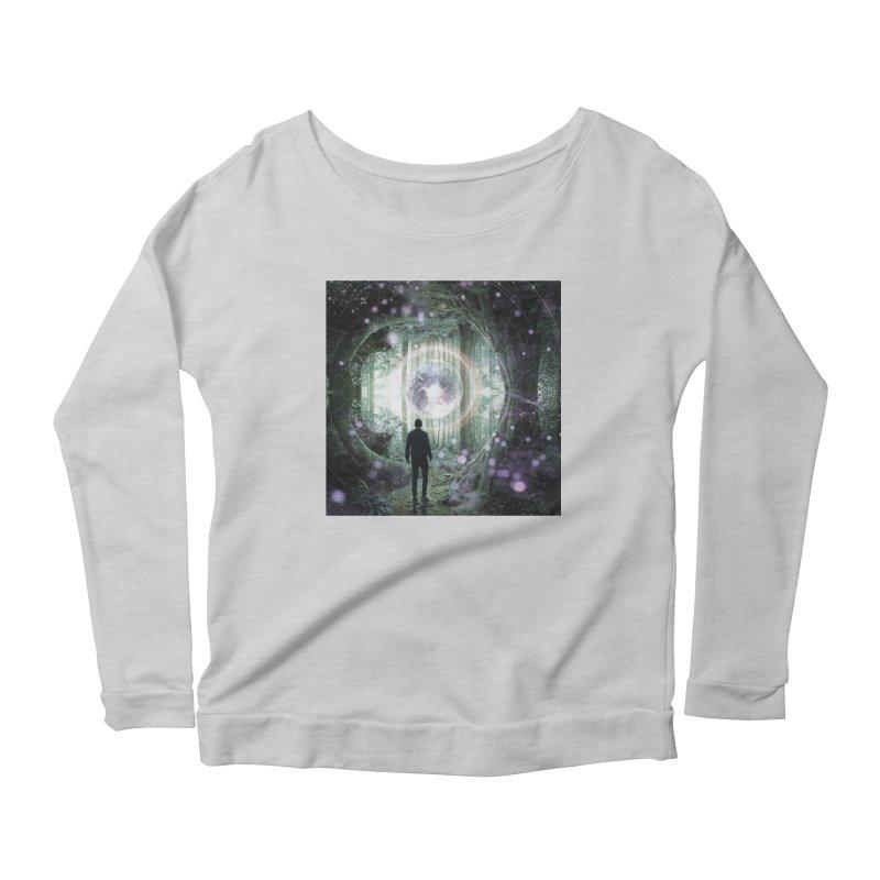 Forest Orb 2 Women's Scoop Neck Longsleeve T-Shirt by Vin Zzep's Artist Shop