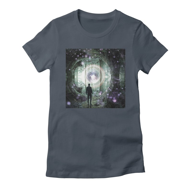 Forest Orb 2 Women's T-Shirt by Vin Zzep's Artist Shop
